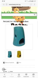 Petlink 2 in 1 house and bottle base