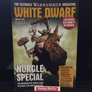 White Dwarf January 2018 Magazine