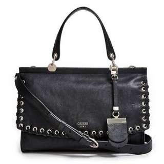 Authentic GUESS womens Andie Top-Handle Flap handbag