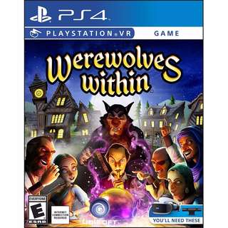 [BNIB] PS4 PSVR Werewolves Within
