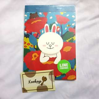 LINE Friends Notepad