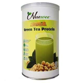 Nuewee有機綠茶蛋白質粉
