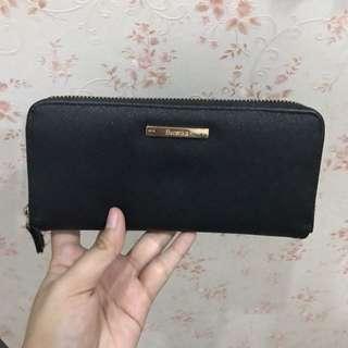 Bershka Black Zipper Wallet