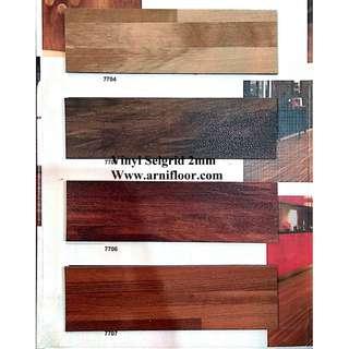 lantai vinyl selgrid tebal 2mm harga sepesial