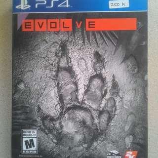 Best seller kaset bd ps4 game original evolve deluxe edition new