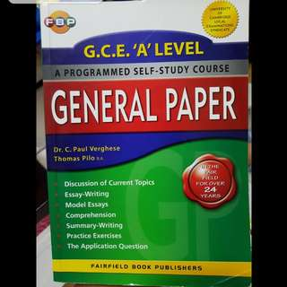General Paper Study Guide + past year GP questions