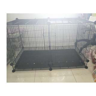 Preloved Small Animals Pets Rabbit Bunny Parrot Bird Cage
