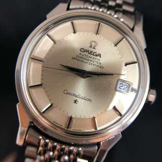 Omega Constellation 全鋼星座系列 Pan Pie cal. 561 Automatic Movement