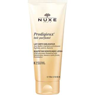 Nuxe Prodigieux Beautifying Scented Body lotion with botanical oils