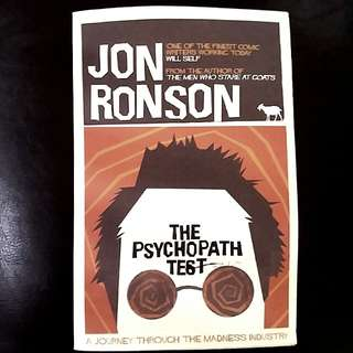 New. The Psychopath tesy by Jon Ronson