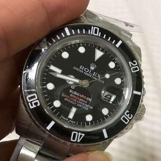 Men's submarine black face Rolex