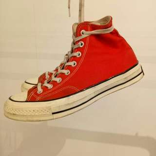 Converse CT 1970s HI RED