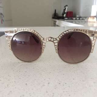 Gold Cotton On Sunglasses