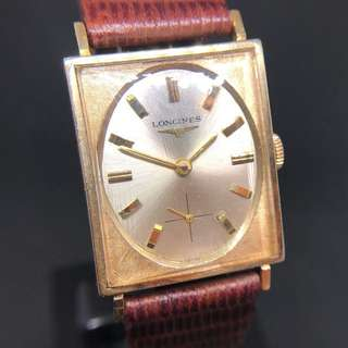 【六十年代古董浪琴】Vintage MINT Longines 1960 Gold Medal Art Deco Manual movement watch with sub second