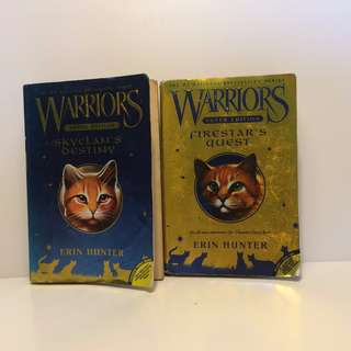 Erin Hunter Warriors Super Edition- Skyclan's Destiny & Firestar's Quest