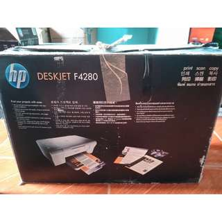Defective: HP Deskjet F4280 All-in-One Printer