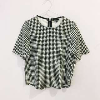 Newlook - Houndstooth Blouse