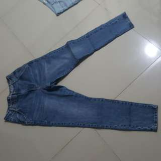 Cotton on high waist jeans