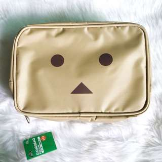 Authentic Youtsuba&! Danbo Damboard Big pouch from Japan