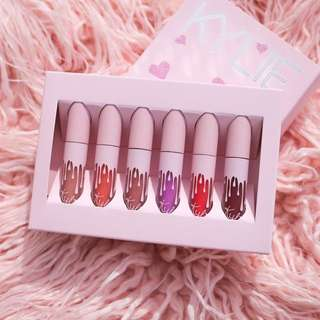 Kylie Birthday New Series Matte Set 6 in 1