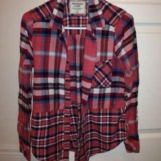 abercrombie and gap plaid shirts