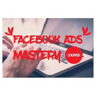 Facebook Ads Mastery Course