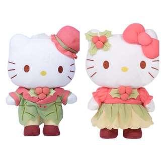 1 Set Hello Kitty & Dear Daniel Plush