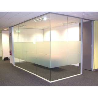 OFFICE GLASS PARTITION--KHOMI