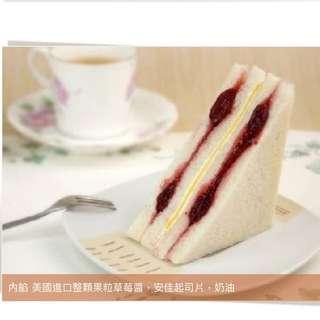 台灣代購🇹🇼洪瑞珍 草莓起司三明治(12個)