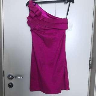 Purple party dress Jessica McClintock size 4