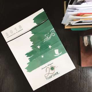(REPRICED!) Starbucks 2018 Planner