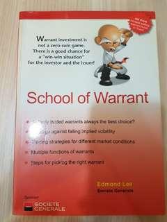School of warrant by edmond lee
