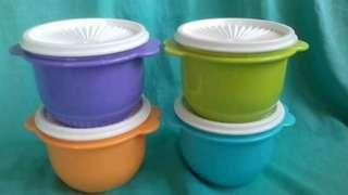 Tupperware Star bowl 4pcs