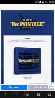 BLOCK B REPACKAGE ALBUM - Re:MONTAGE