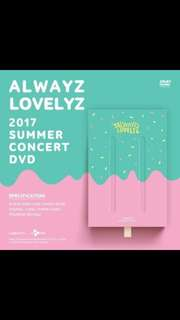 LOVELYZ 2017 SUMMER CONCERT DVD - ALWAYS LOVELYZ