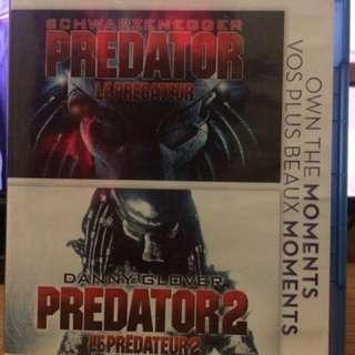 Predator Double Pack Bluray