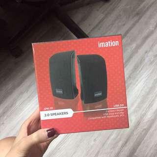 BNIB IMATION 2.0 USB Speakers