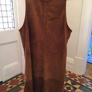 Kirrily Johnson suede dress