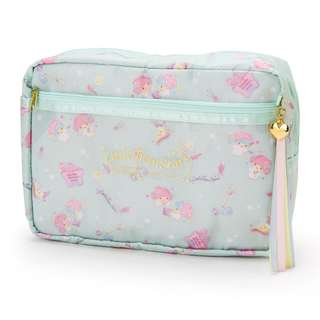 Japan Sanrio Little Twin Stars Stationery Storage Case (Happiness Girl)