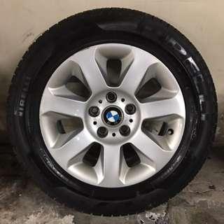 "BMW 5 Series 16""原廠軚軨,連PIRELLI P7,225/55/R16"