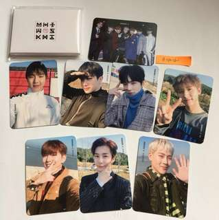 MONSTA X : The Code Show-Con Photo Card Set B