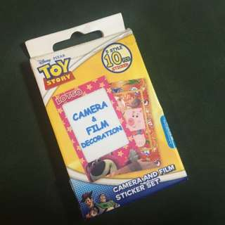 Toy Story 🔸Camera & Film Stricker