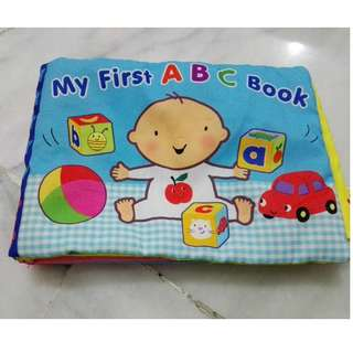 Softplay My First ABC Book Clothbook #15Off