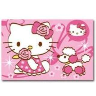 Canvas Art for Children (Hello Kitty & Poodle)