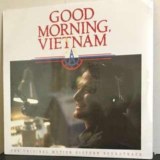 RARE SEALED Good Morning Vietnam ROBIN WILLIAMS Vinyl LP ORIGINAL 1998 Vtg A&M