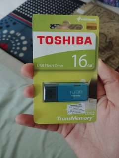 TOSHIBA HAYABUSA Flash Drive / Pendrive / Thumb Drive USB 16GB