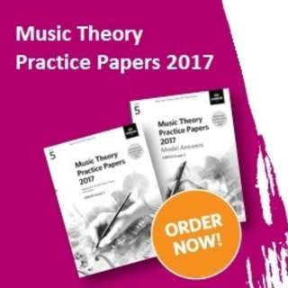 Music Theory Practice Papers 2017 and Model Answers