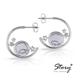PO Taiwan Story + Jewellery x Sanrio Little Twin Star earrings and ring