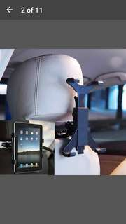 Mount holder car back seat headrest for ipad 2/3/4/5 galaxy tablet pc