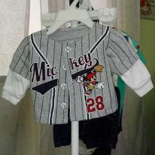 *NY SALE* Disney Mickey Mouse Baby Shirt